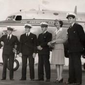 1946 DC-4 CREW MIAMI
